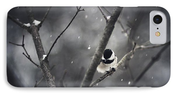 Snowy Chickadee IPhone 7 Case