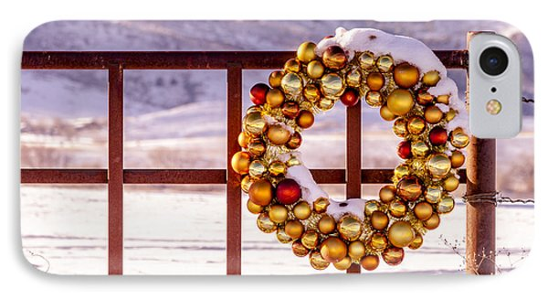Snowy Christmas Morning IPhone Case by Teri Virbickis