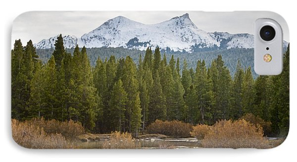 Snowy Fall In Yosemite IPhone Case by David Millenheft