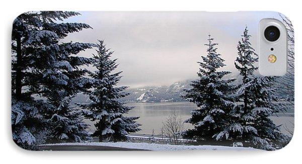 Snowy Gorge IPhone Case by Athena Mckinzie