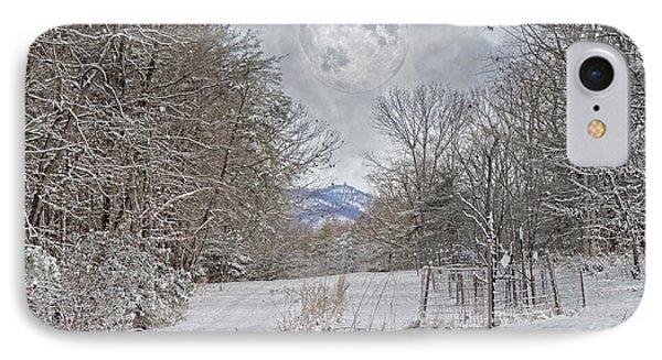 Snowy High Peak Mountain IPhone Case by Betsy Knapp
