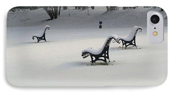 Snowy Landscape IPhone Case