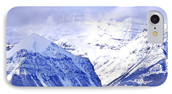 Snowy Mountains IPhone Case by Elena Elisseeva