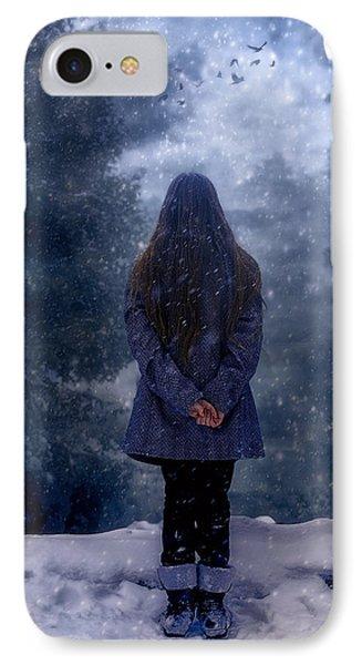 Snowy Night IPhone Case by Joana Kruse