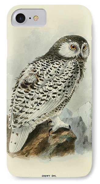 Snowy Owl 1 IPhone Case