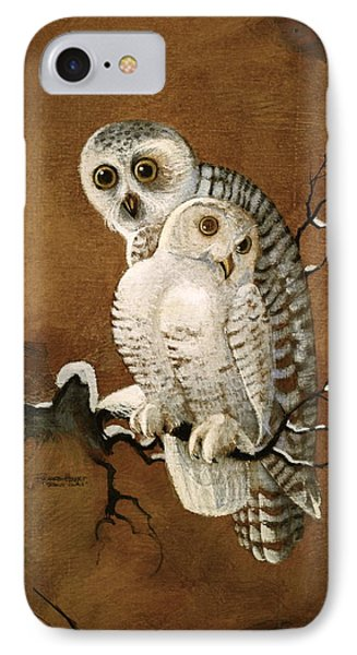 Snowy Owls IPhone Case by Richard Hinger