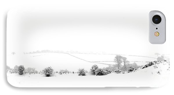 IPhone Case featuring the photograph Snowy Panorama by Liz Leyden