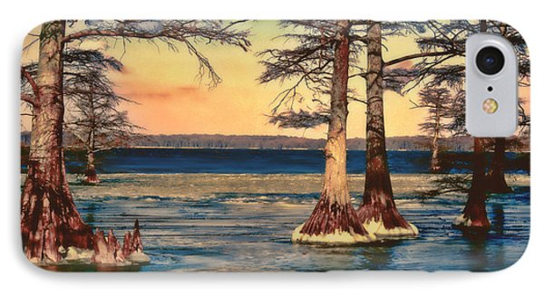 Snowy Reelfoot IPhone Case by Bonnie Willis