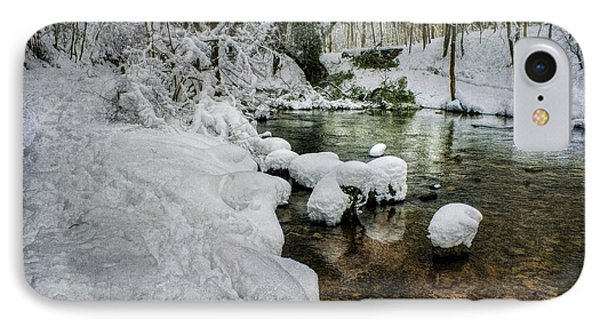 Snowy River Bank IPhone Case by Ian Mitchell