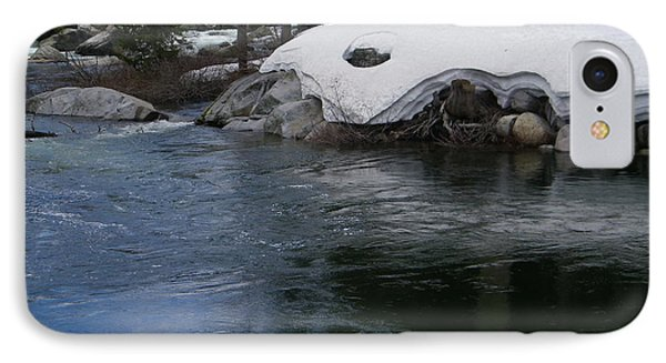 IPhone Case featuring the photograph Snowy River Bend by Bobbee Rickard