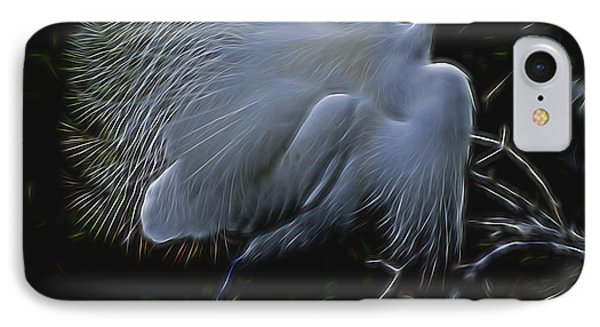 IPhone Case featuring the digital art Wild Light 1 by William Horden