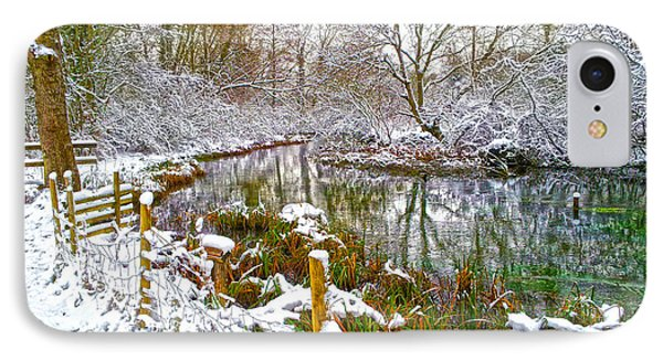 Snowy Rookwood IPhone Case by Andrew Middleton