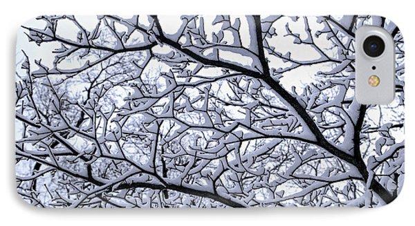 Snowy Tree IPhone Case by Elena Elisseeva