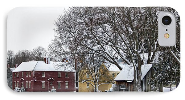 Snowy Village IPhone Case by Eric Gendron