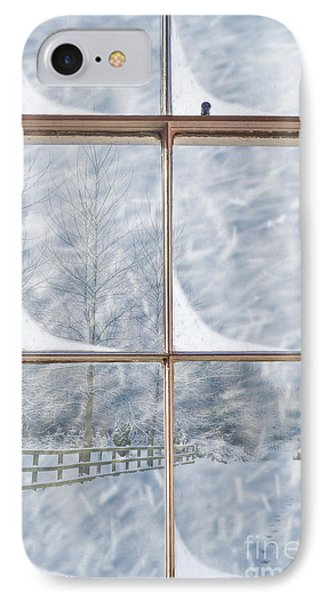 Snowy Window IPhone Case