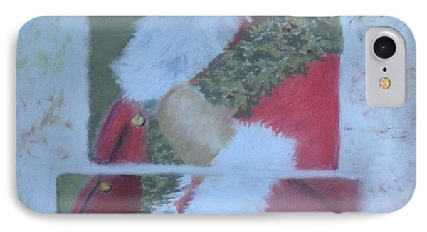 S'nta Claus IPhone Case by Claudia Goodell