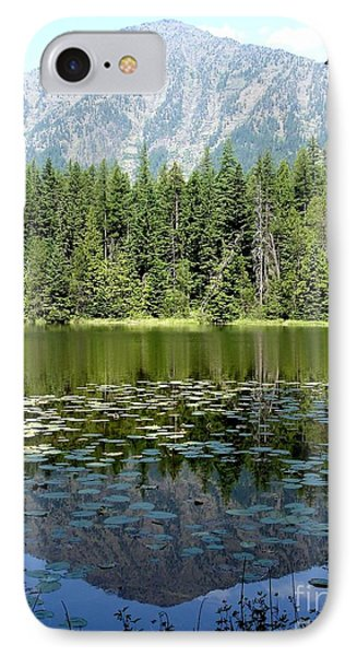 IPhone Case featuring the photograph Snyder Lake Reflection by Kerri Mortenson