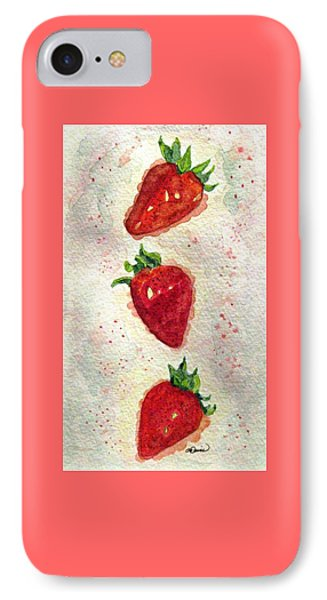 IPhone Case featuring the painting So Juicy by Angela Davies