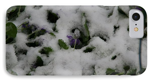 IPhone Case featuring the photograph So Much For An Early Spring by David S Reynolds