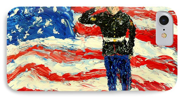 So Proudly They Hailed  Phone Case by Mark Moore