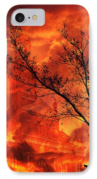 IPhone Case featuring the photograph So Says The Crow by Jennifer Muller