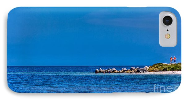 So This Is The Gulf Of Mexico IPhone Case by Marvin Spates
