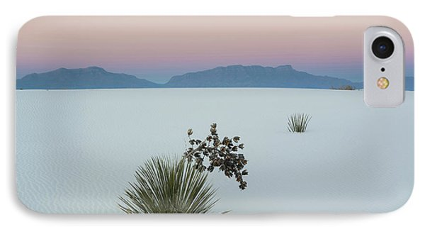 Soaptree Yucca Yucca Elata In Dawn IPhone Case by Panoramic Images