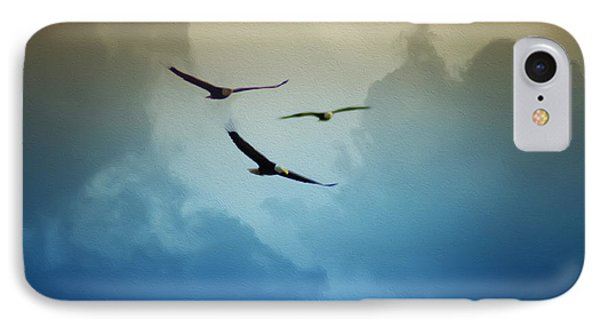 Soaring Eagles Phone Case by Bill Cannon