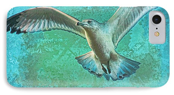 Soaring On Lifes Air Drafts Phone Case by Deborah Benoit