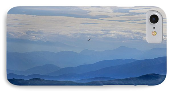 Soaring Over The Misty Andes IPhone Case