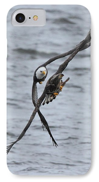 Soaring With Junior IPhone Case by Coby Cooper
