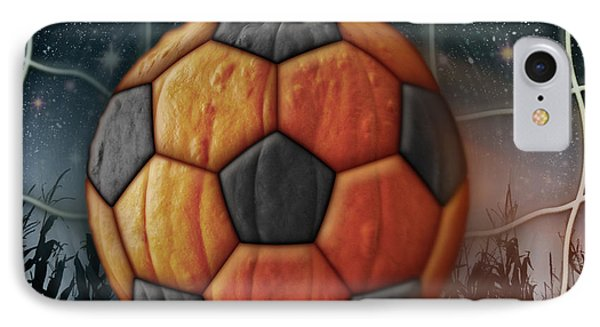 Soccer Ball Pumpkin IPhone Case