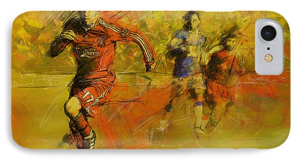 Soccer  IPhone Case by Corporate Art Task Force