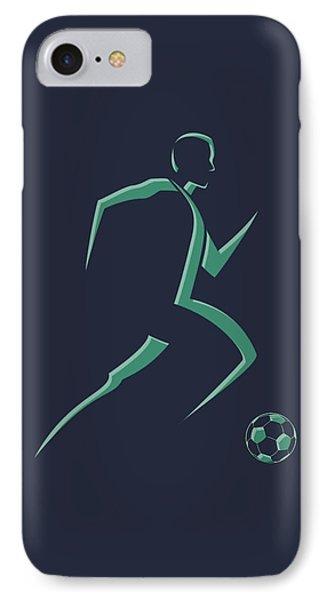 Soccer iPhone 7 Case - Soccer Player1 by Joe Hamilton