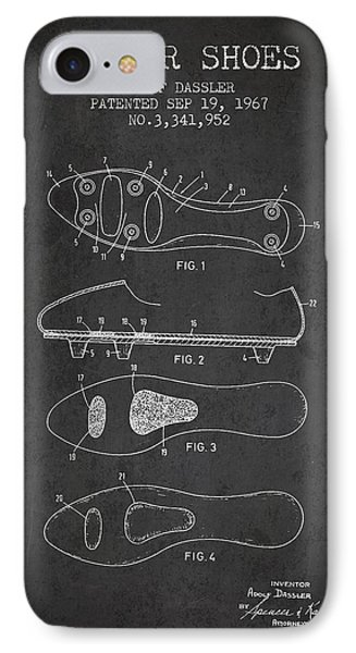Soccer Shoe Patent From 1967 IPhone Case
