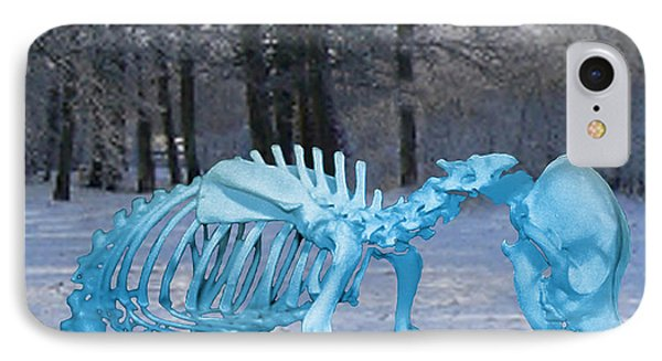 IPhone Case featuring the digital art Sochi 2014 Dog Slaughter by Eric Kempson
