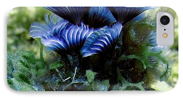 IPhone Case featuring the photograph Social Feather Duster Cluster - A Social Gathering by Amy McDaniel