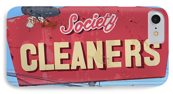 Society Cleaners Phone Case by Charlette Miller