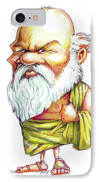 Socrates IPhone Case by Gary Brown
