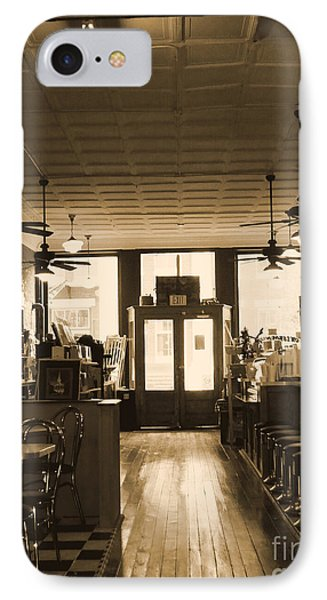 Soda Fountain And General Store IPhone Case by Debra Crank