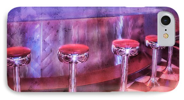 Soda Fountain Stools II IPhone Case