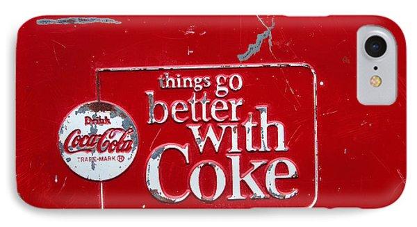 Soda Of Choice Phone Case by Toni Hopper