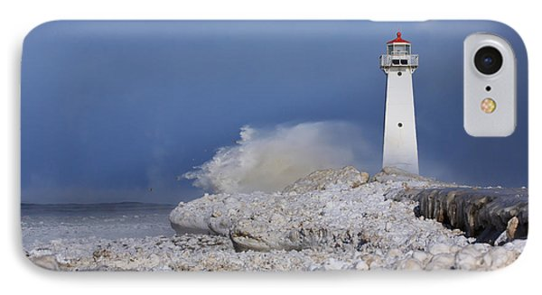 Sodus Bay Lighthouse IPhone Case by Everet Regal