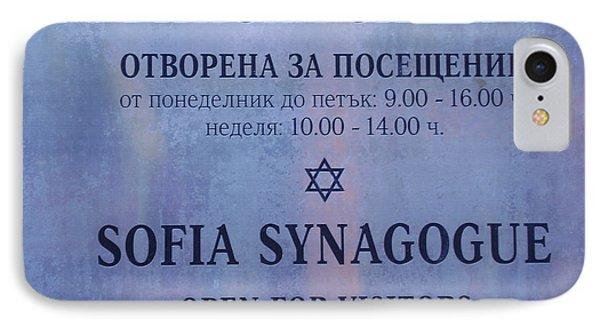 Sofia Synagogue IPhone Case