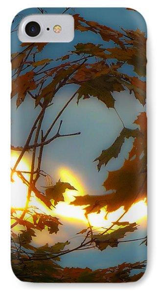 IPhone Case featuring the photograph Soft Autumn Dawn by Glenn Feron