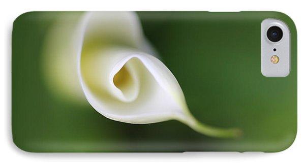 Soft Beginnings Calla Lily Flower Phone Case by Jennie Marie Schell