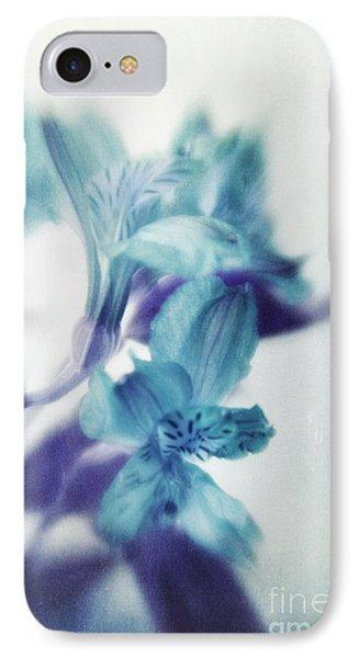 Soft Blues Phone Case by Priska Wettstein