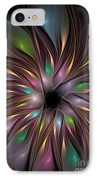 Soft Colors Of The Rainbow IPhone Case by Deborah Benoit