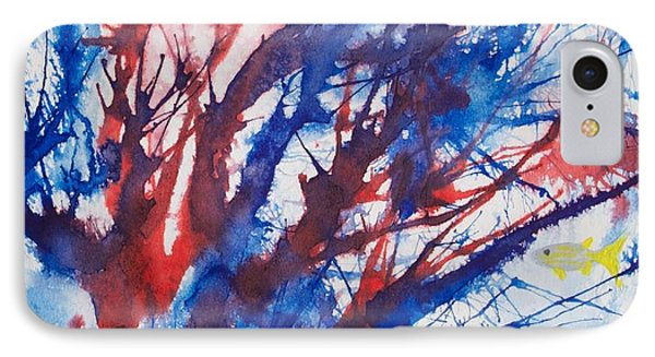 Soft Coral Splatter IPhone Case by Patricia Beebe