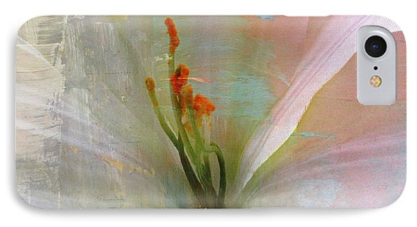 Soft Painted Lily IPhone Case by Judy Palkimas